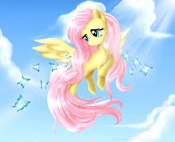 Fluttershy and papillons