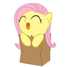Bag Fluttershy
