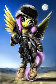 Warrior Fluttershy