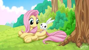 Fluttershy and Angel