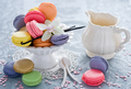Macaroons           - food wallpaper