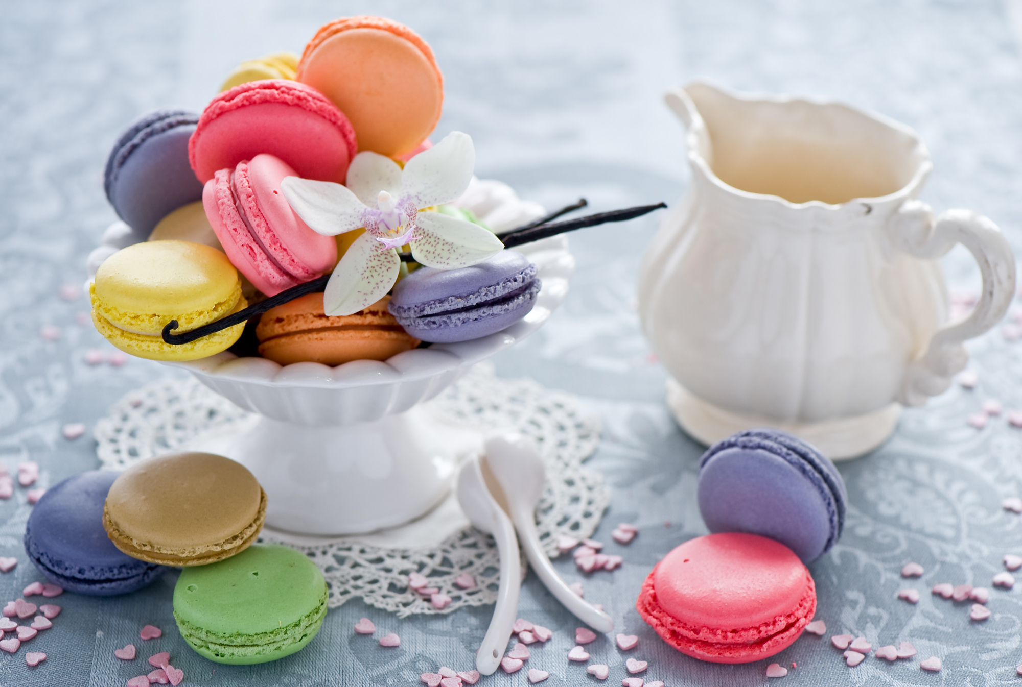 Food images macaroons hd wallpaper and background photos for Cuisine wallpaper