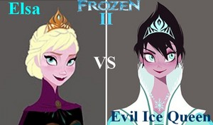 Elsa VS Evil Ice Queen