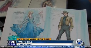 Costume designs for Disney's Frozen on Ice production