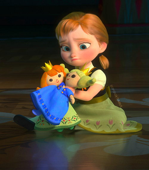Little anna frozen