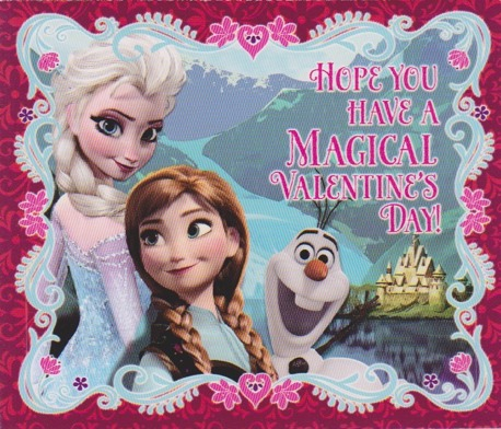 Frozen wallpaper entitled Frozen Valentine Cards