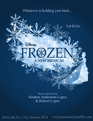 frozen Musical Poster (Fan made)