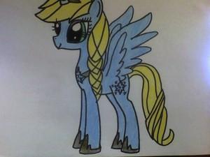 Elsa as a poni, pony