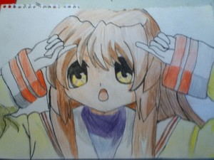Fuko Ibuki colourer (pencils)