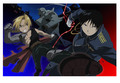 Edward, Alphonse and Roy - full-metal-alchemist photo