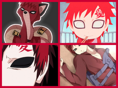 Gaara of Suna wallpaper with anime called Gaara's Life Over the Years