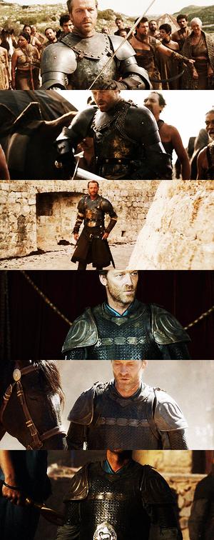 Jorah Mormont + armour porn