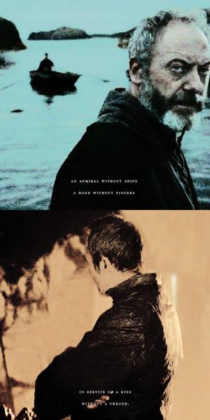 Stannis Baratheon & Davos Seaworth