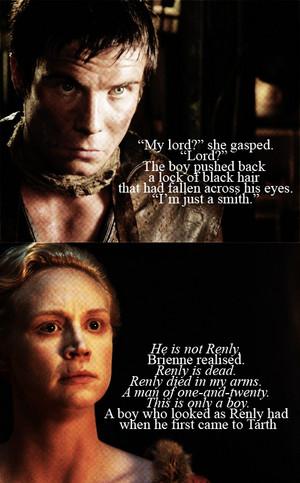 Brienne of Tarth & Gendry