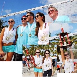 Sports Illustrated Swimsuit Beach Volleyball Tournament in Miami
