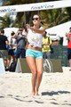 Sports Illustrated Swimsuit Beach Volleyball Tournament in Miami - gigi-hadid photo