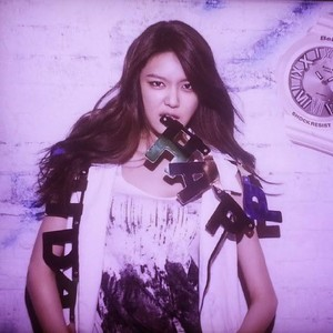 SNSD Sooyoung Casio Baby G