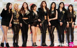 SNSD 3rd Gaon के पॉप Awards