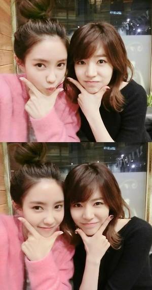 Sunny and Hyomin