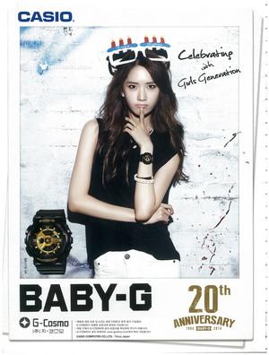 Yoona - Casio Baby G