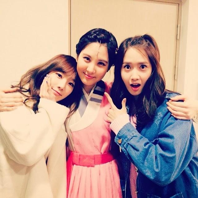 SNSD Taeyeon , Yoona and Seohyun