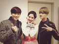 SNSD Seohyun and एक्सो Suho and Baekhyun