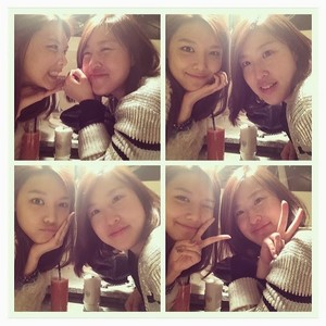 Sooyoung with friend