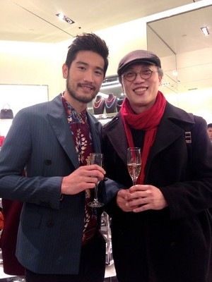 Godfrey (Prada event)