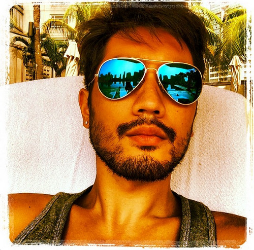 Godfrey Gao wallpaper with sunglasses called Godfrey - Instagram