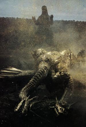 Godzilla's Victory