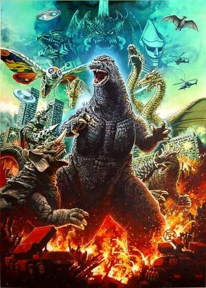 Godzilla, The King!
