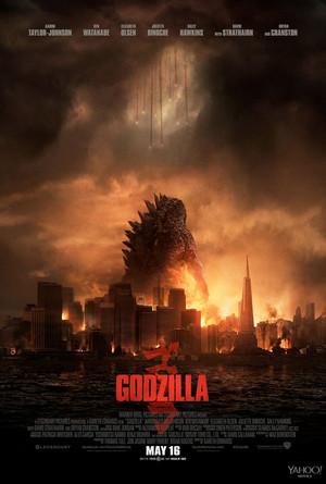 Godzilla New Poster (2014)