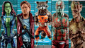 Hasbro's Guardians of the Galaxy Marvel Legends Infinite Series Toy Fair Poster