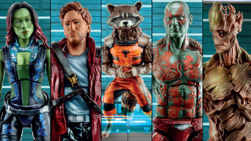 Guardians of the Galaxy 바탕화면 entitled Hasbro's Guardians of the Galaxy Marvel Legends Infinite Series Toy Fair Poster