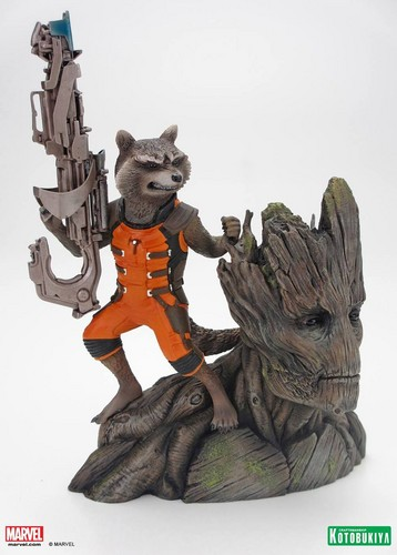 Guardians of the Galaxy 바탕화면 titled Guardians of the Galaxy Collectible Statue