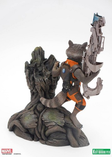 Guardians of the Galaxy 바탕화면 called Guardians of the Galaxy Collectible Statue