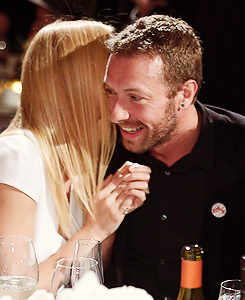 Gwyneth Paltrow and Chris Martin, January 2014.