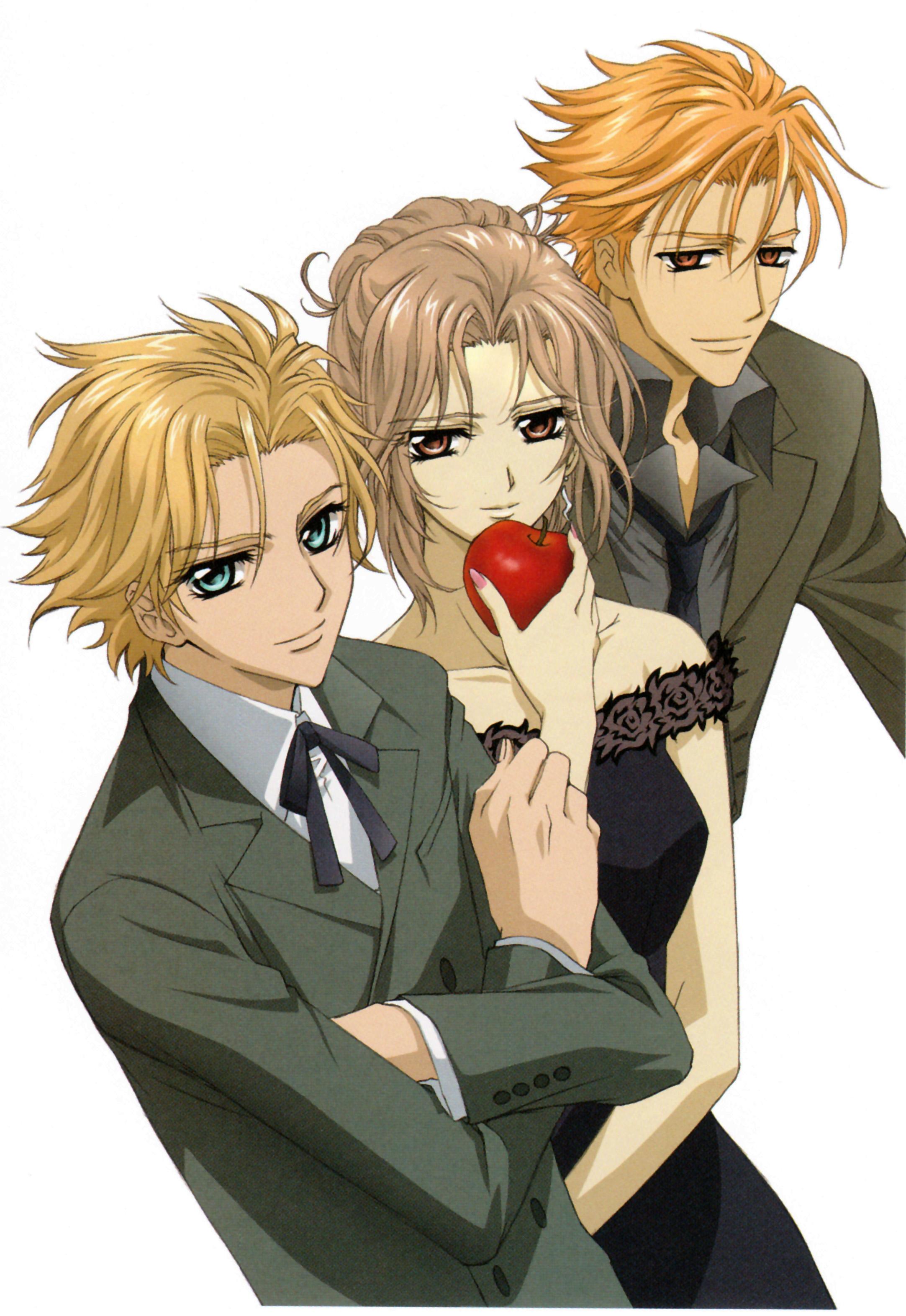 Hanabusa Aidou, Ruka and Kain