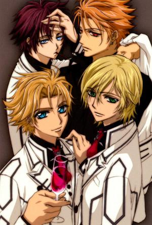 Hanabusa Aidou, Ichijou, Shiki and Kain