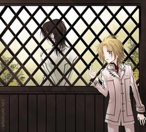 Hanabusa Aidou and Kaname Kuran