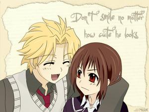 Hanabusa Aidou and Yuuki ক্রুশ