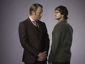 Hannibal Lecter and Will Graham