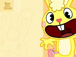 Happy albero Friends Cuddles wallpaper