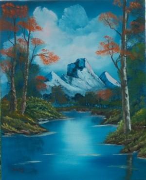 Painting bởi Bob Ross