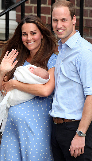 The Royal Family Back In 2013
