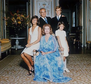 The Royal Family Of Monaco Back In 1973