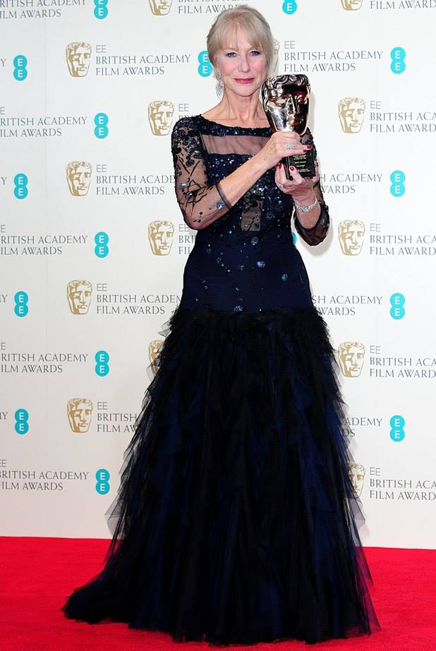 Congrats to Helen for her well-deserved Lifetime Achievement BAFTA! <3