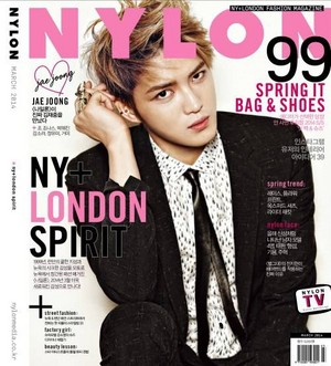 Jaejoong for 'Nylon'