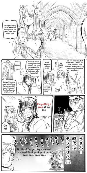 Taiwan and Belarus manga!