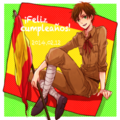 Happy Birthday Spain~! - hetalia fan art